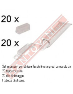 SET ACCESSORI X STRISCE WATER PROOF