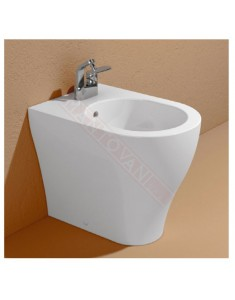 Flaminia bidet App back to wall monoforo bianco