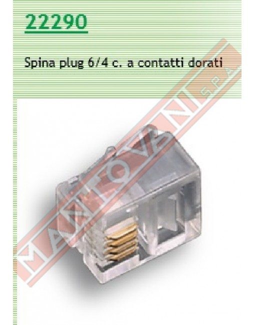 Fme connettore telefonico Plug 6\4