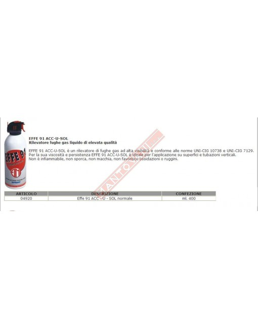EFFE 91 SPRAY ACC-U-SOL