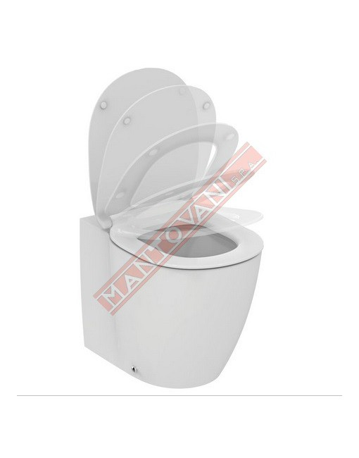 IDEAL STANDATRD CONNECT VASO A TERRA AQUABLADE C\SEDILE SOFT BEU