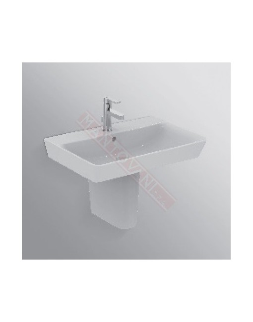Connect Air lavabo Cube lavabo da 600 mm ideal standard con foro rubinetteria