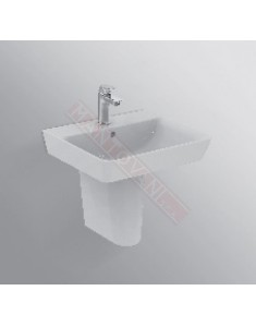 Connect Air lavabo Cube lavabo da 500 mm ideal standard con foro rubinetteria