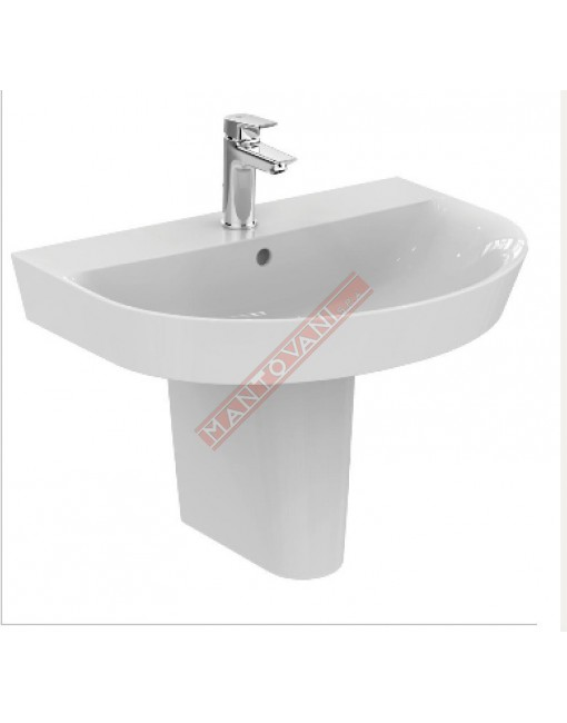 CONNECT ARC LAVABO DA PARETE 700X460 MM IDEAL STANDARD CON FORO RUBINETTERIA