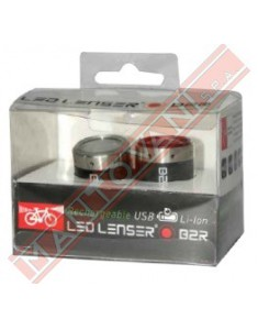 LED LENSER BIKE LAMP B2R+B2R 30 METRI