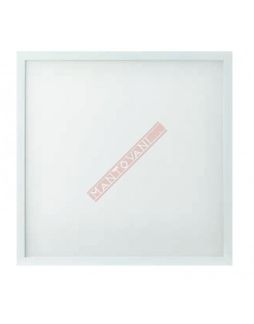 PAN LED PANEL 60X60 36W 3500 LUMEN 3000K UGR INFERIORE 17 TABLEAU MICROPRISMATICO